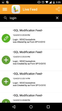 Figure 6: Notifications in Auditor App