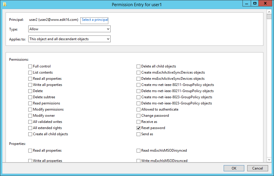 Figure 4 User with Reset Password Permission