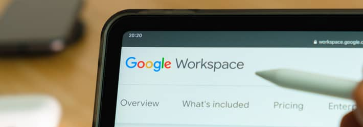 Data Protection for Google Workspace