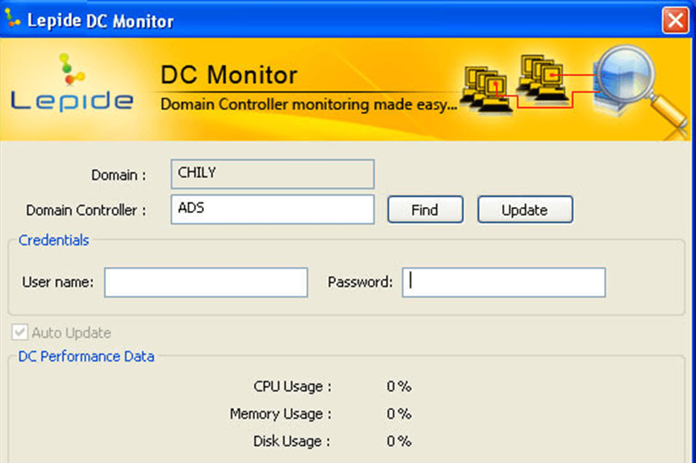 Image result for Lepide DC Monitor""
