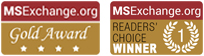 MSExchange.com Gold Award and Reader's choice winner
