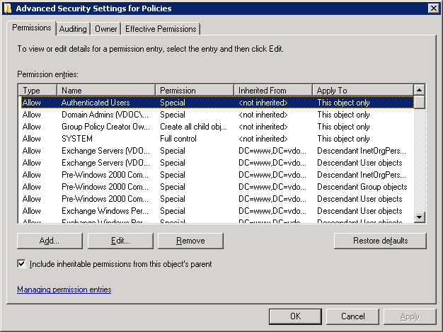 how to create gpo in active directory