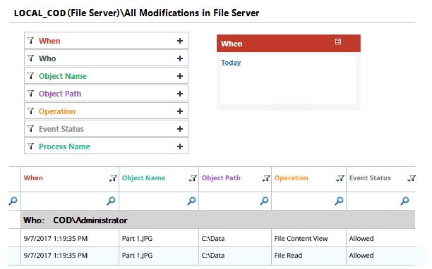 Lepide File Server Change Audit