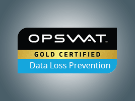 LepideAuditor received a gold certification from OPSWAT for its contribution to data loss prevention