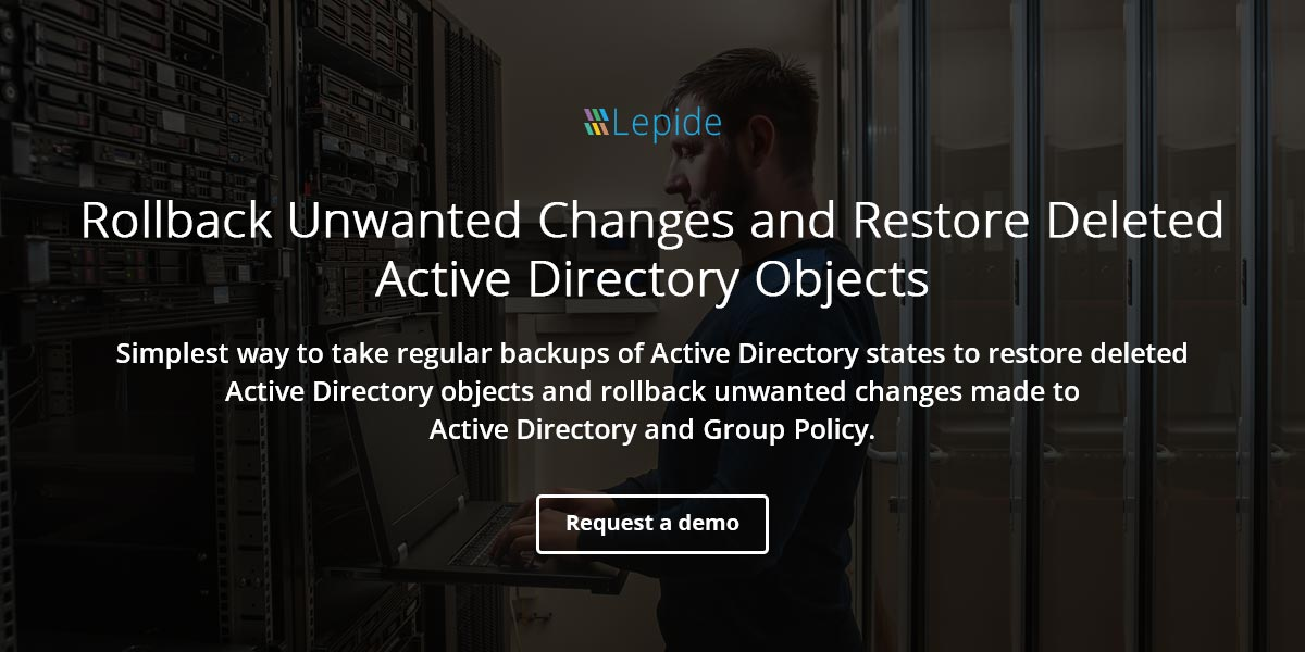 Restore Active Directory and Group Policy Objects with